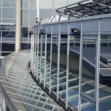 Photo of Solar Gard Sentinel Plus window tinting installed on the Nantes hospital
